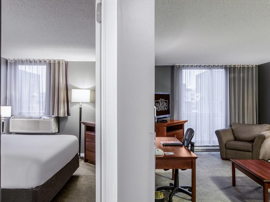 One King Suite at Hotel Faubourg Montreal