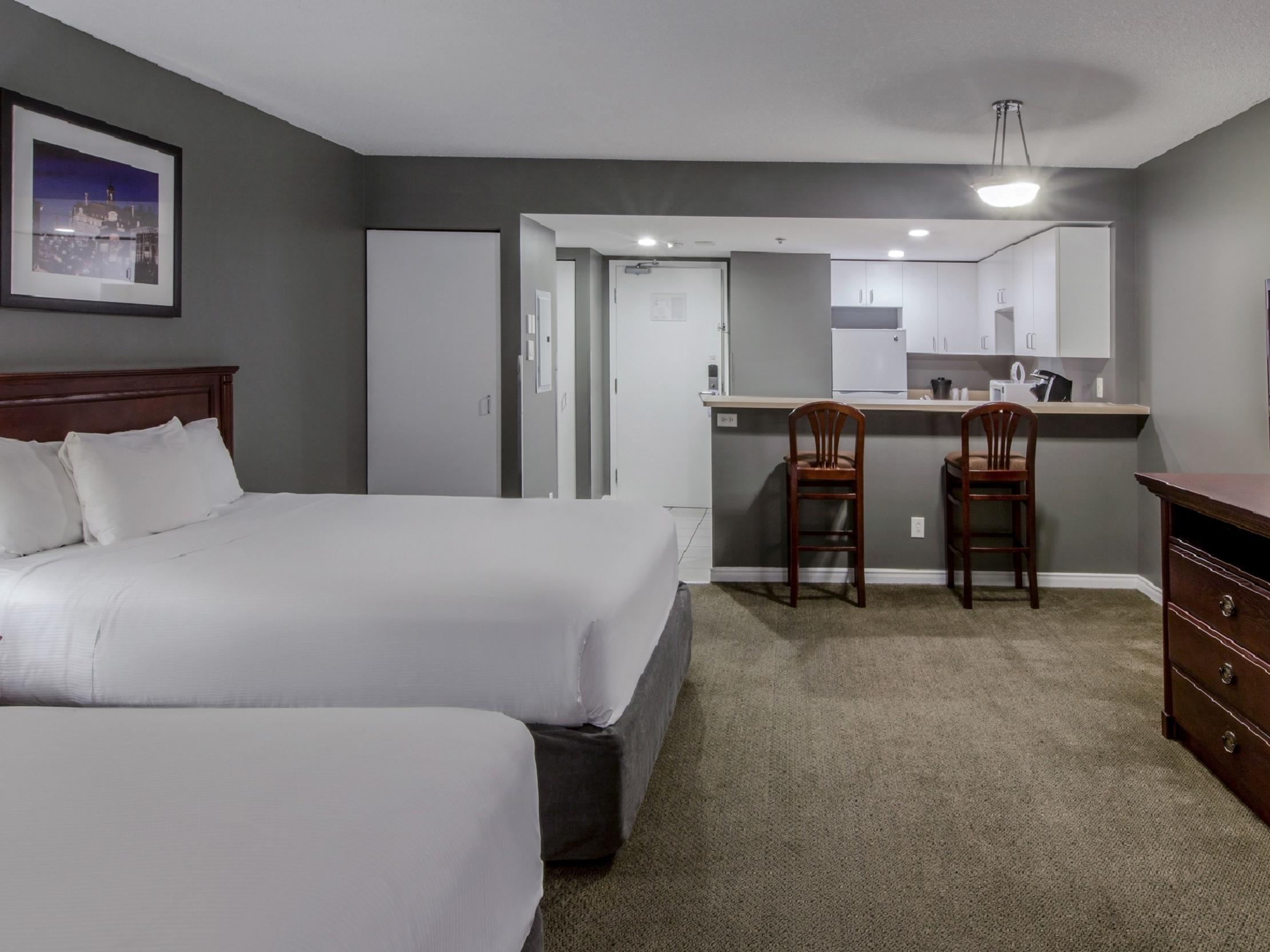 Two Queen Bed Suite at Hotel Faubourg Montreal
