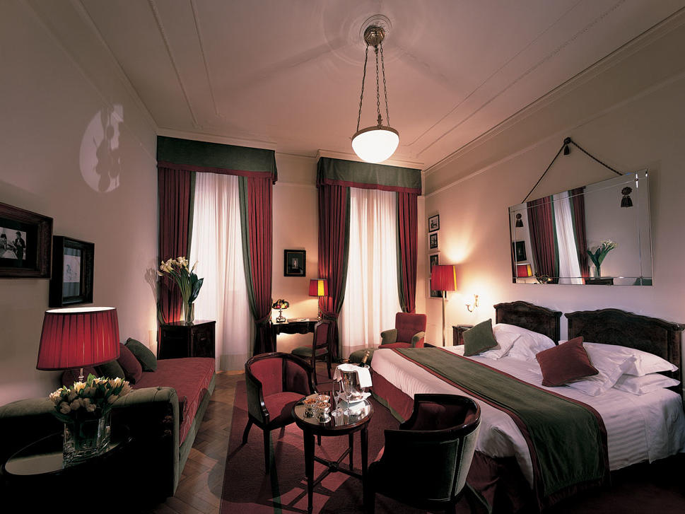 Junior Suite at Grand Hotel et de Milan