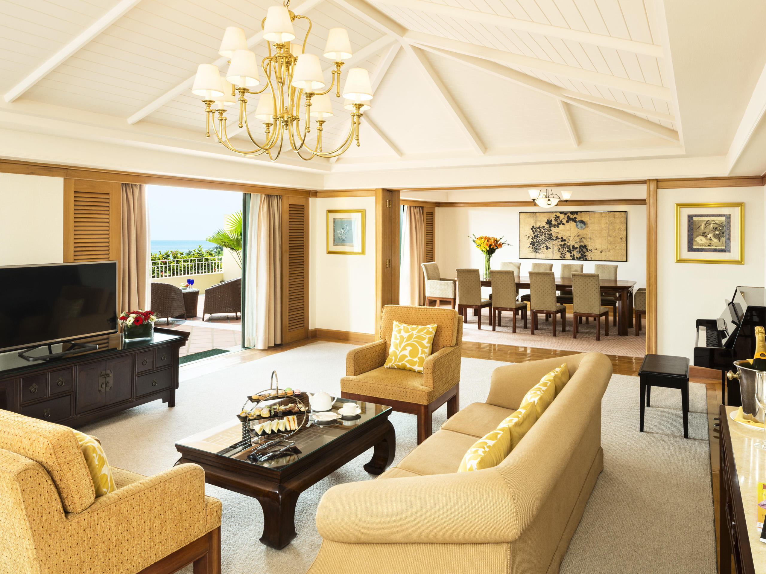 Presidential suite at Grand Coloane Resort