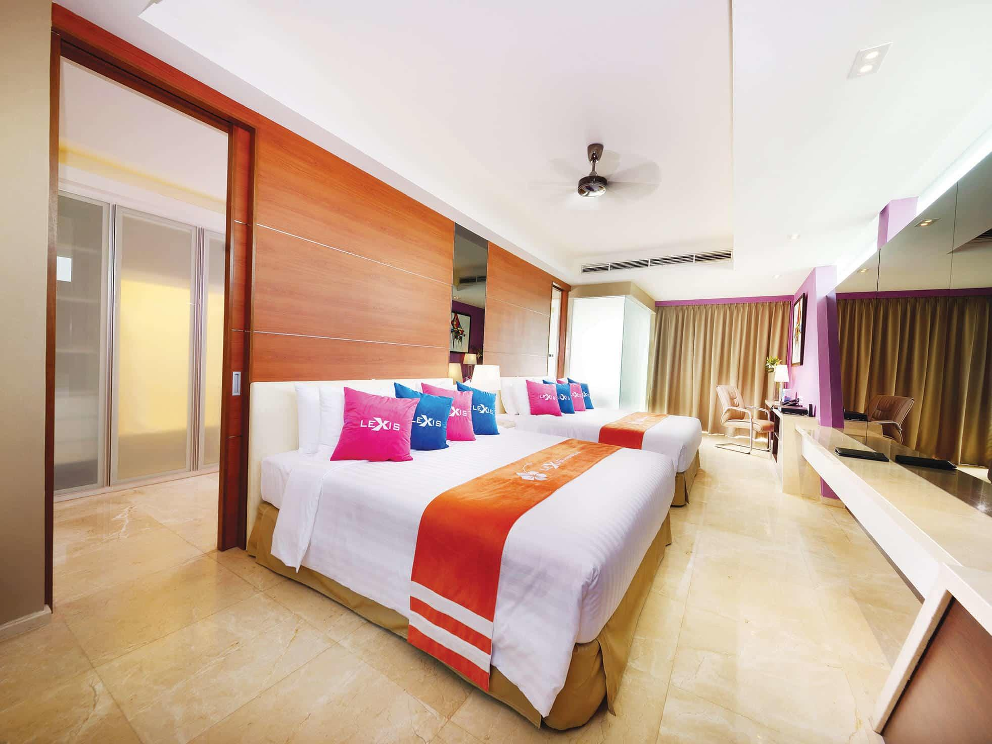 Panorama Pool Villa room with 2 king size beds - Lexis Hibiscus® Port Dickson
