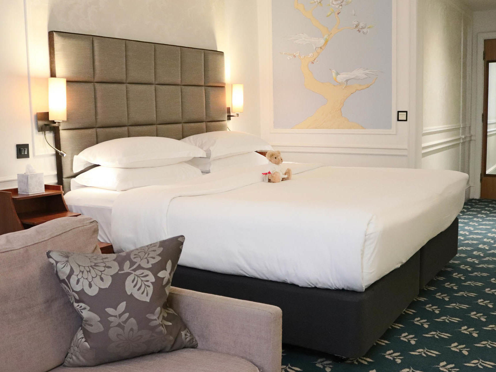 Club family room with family bed at Sloane Square Hotel