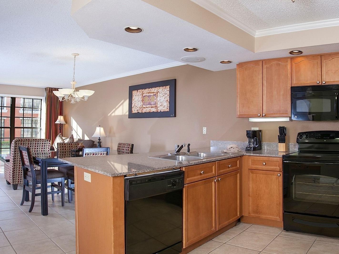 Kitchen Area -  Legacy Vacation Resorts