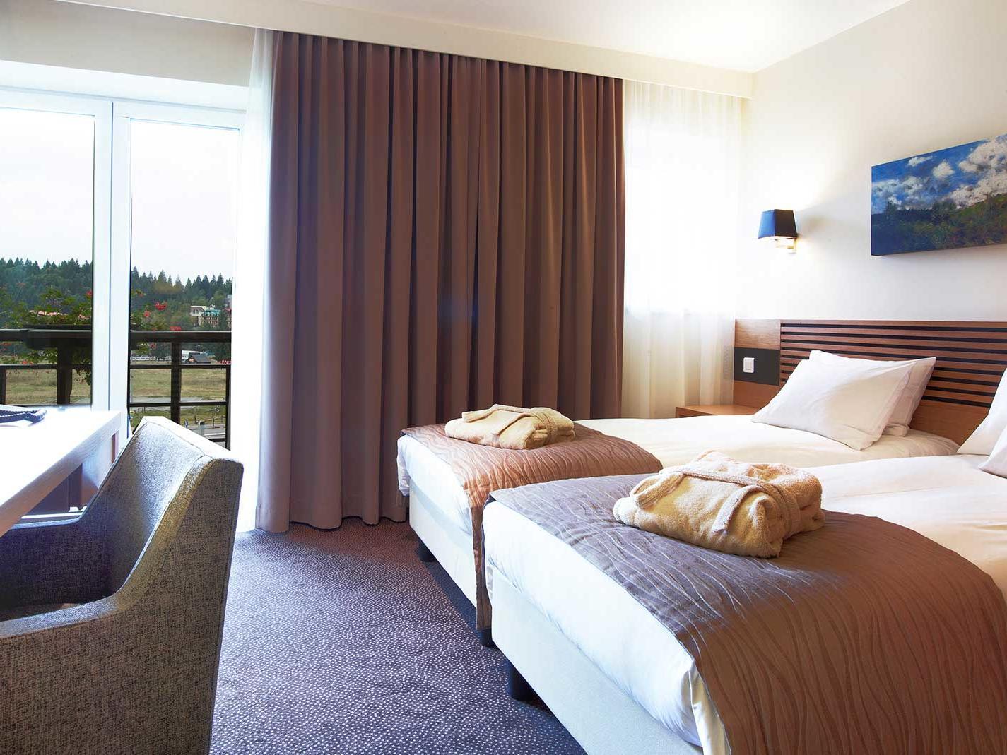 Twin Room at Ana Hotels Sport Poiana Brașov