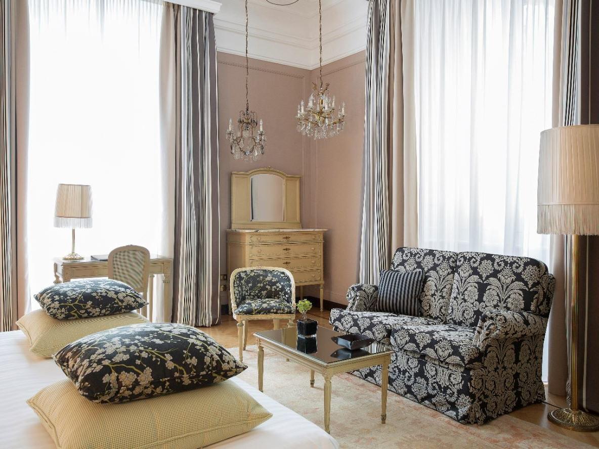 Junior Suite at Grand Hotel et de Milan