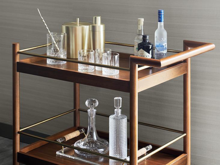 Gansevoort Suite Bar Cart