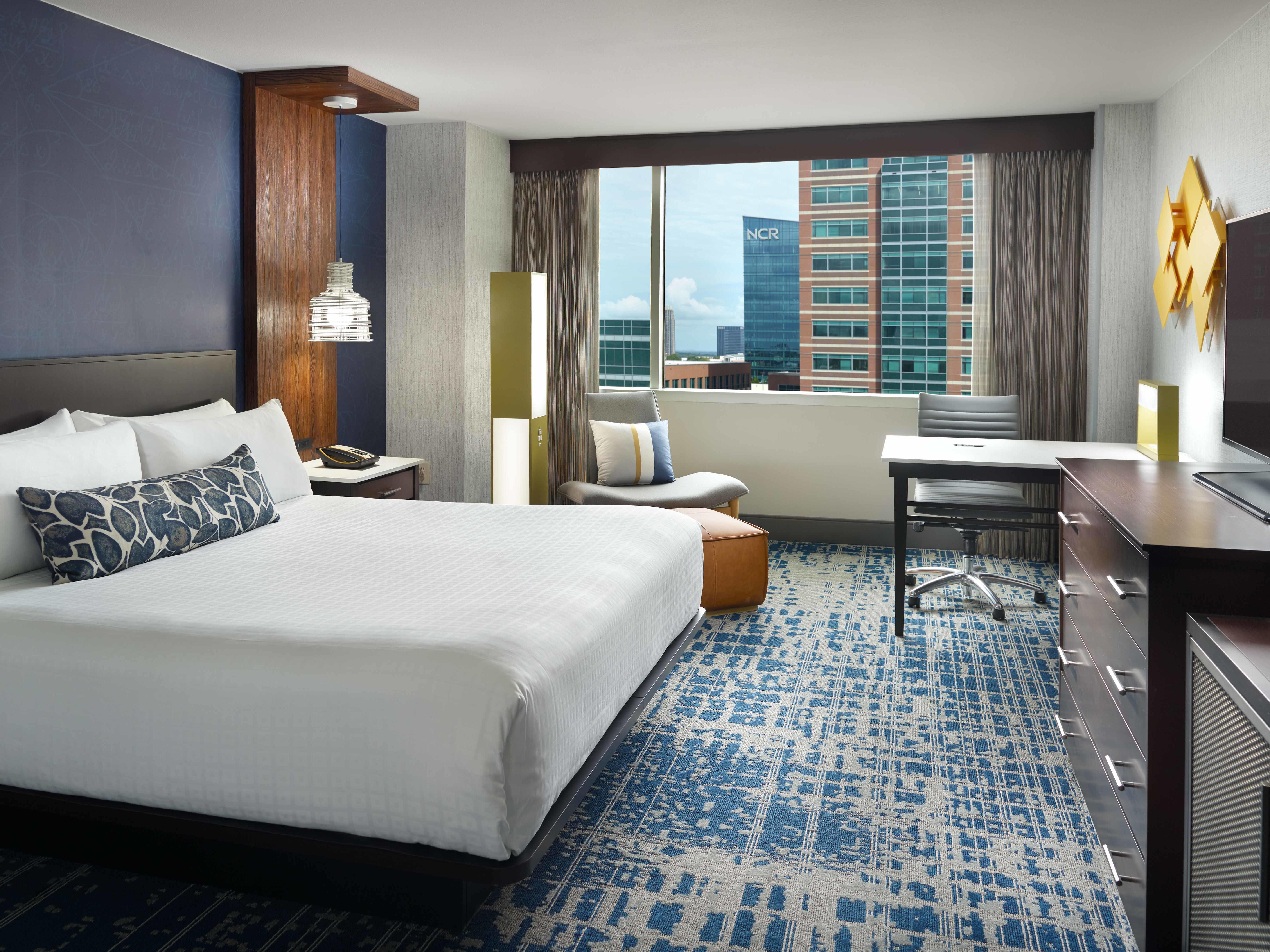 Georgia Tech Hotel King Guest Room