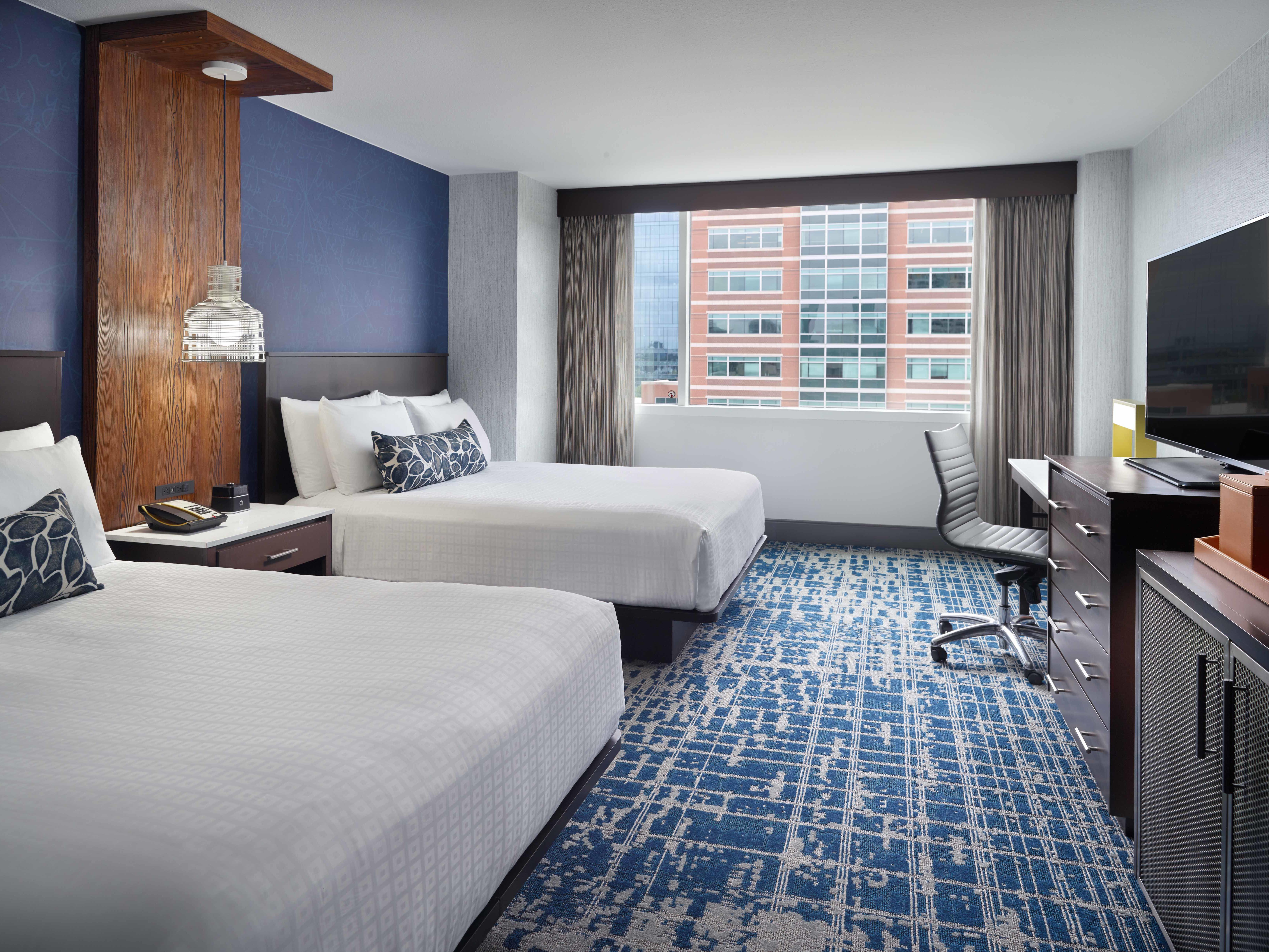 Georgia Tech Hotel Queen/Queen Guest Room