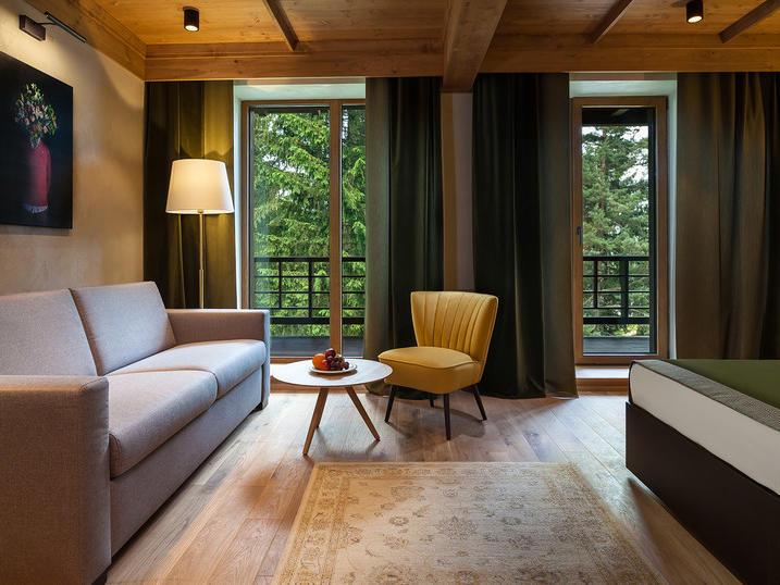 King Deluxe Room at Ana Hotels Bradul Poiana Brașov