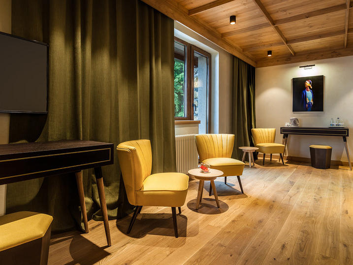 King Junior Suite at Ana Hotels Bradul Poiana Brașov