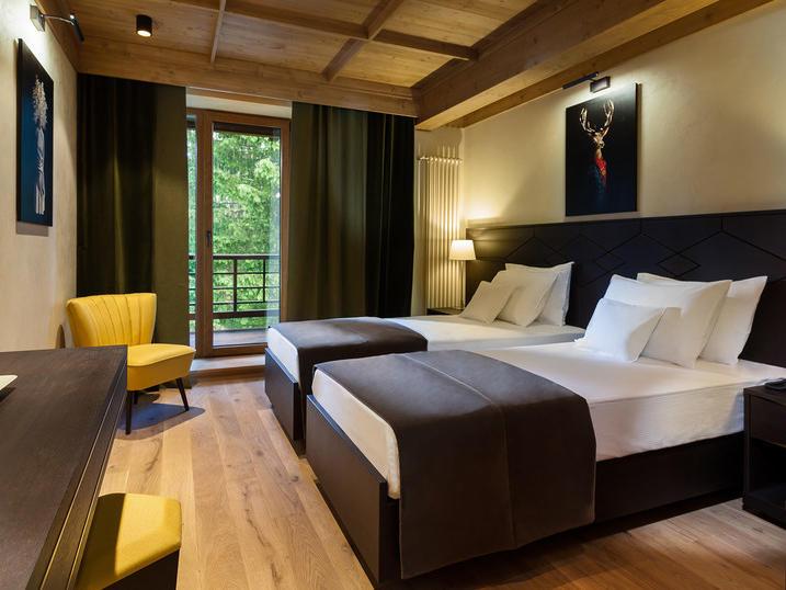 Twin Room at Ana Hotels Bradul Poiana Brașov