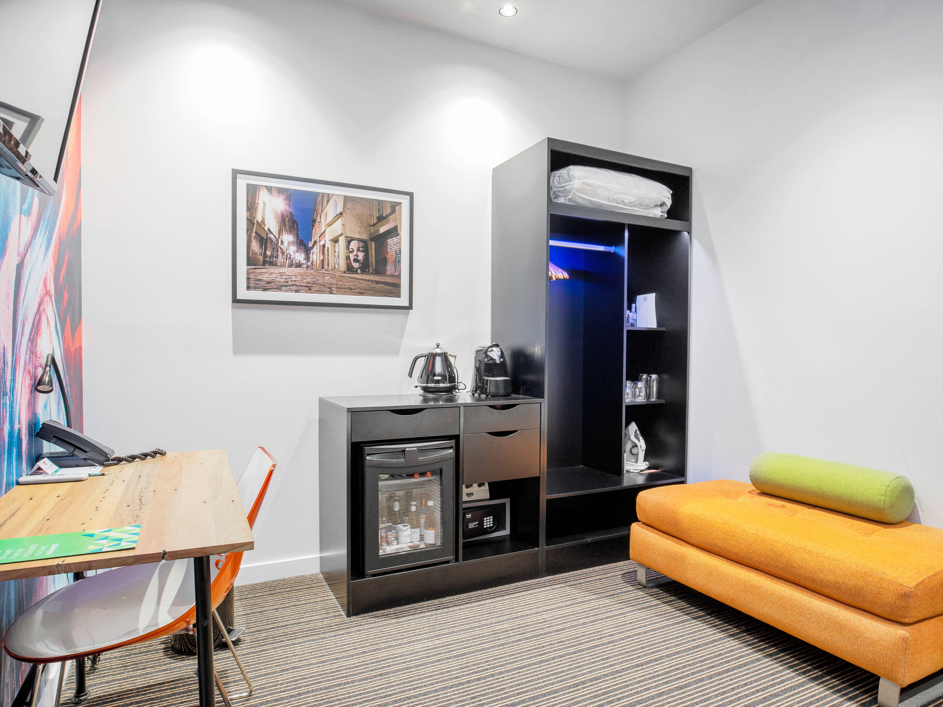 Specifically designed to accommodate accessibility needs - open plan