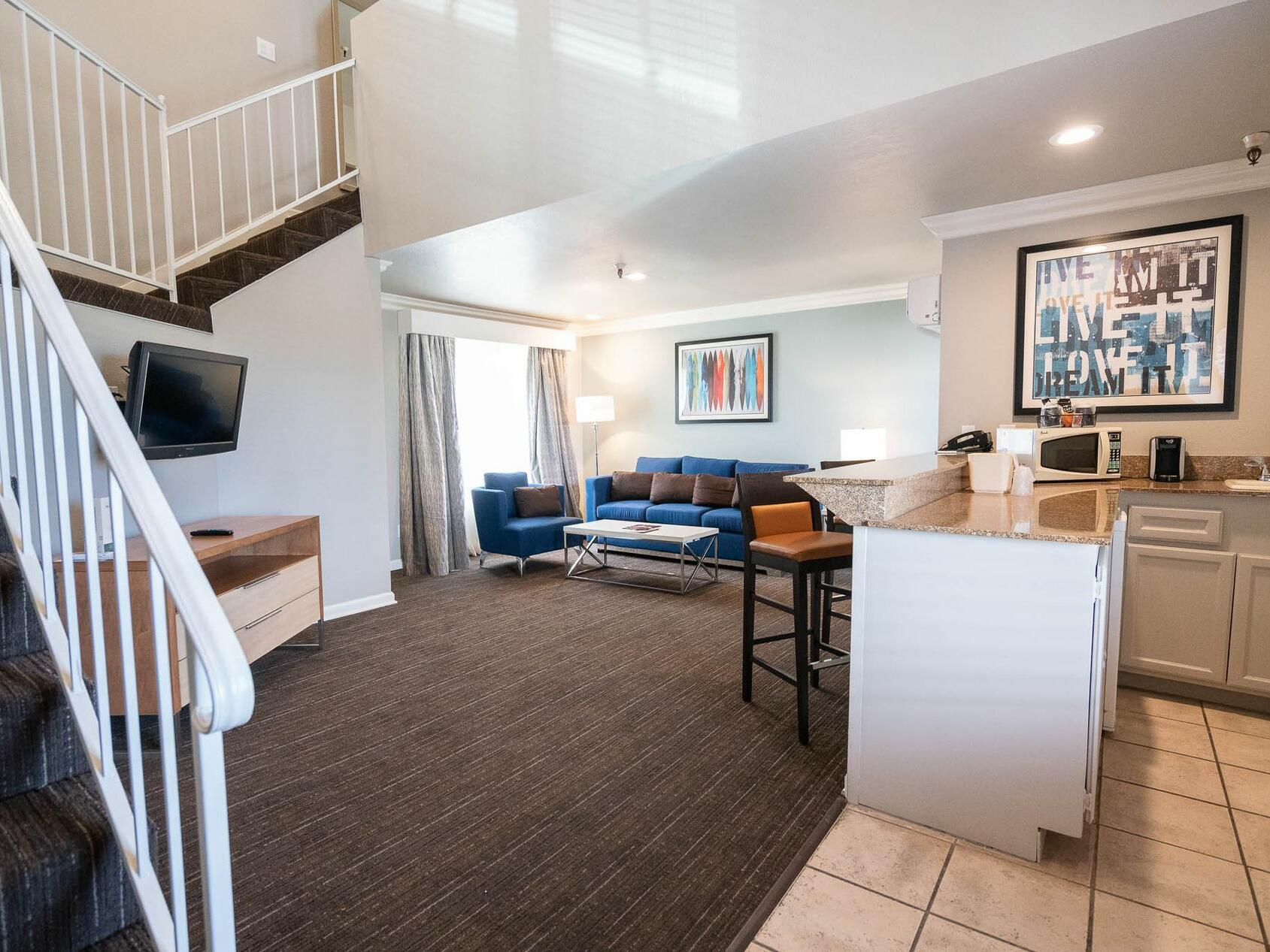 Two Story Crown Loft Suite at the Alexis Park Resort