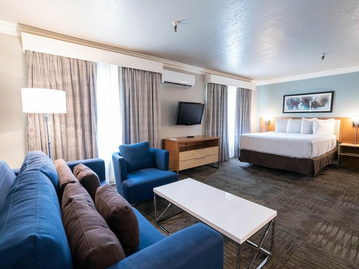 Studio Deluxe Queen Suite at the Alexis Park Resort