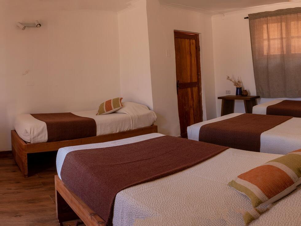 Hotel en San Pedro de Atacama con espacios de descanso y cuidado