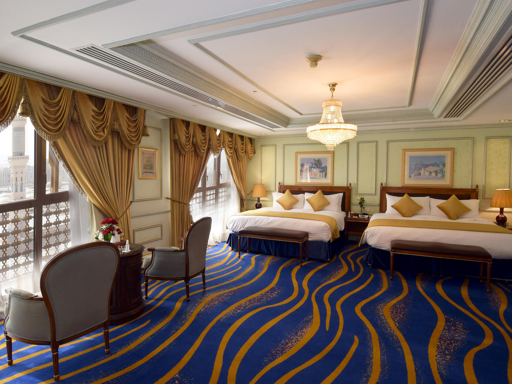 Royal Haram Suite 1 Bed Room