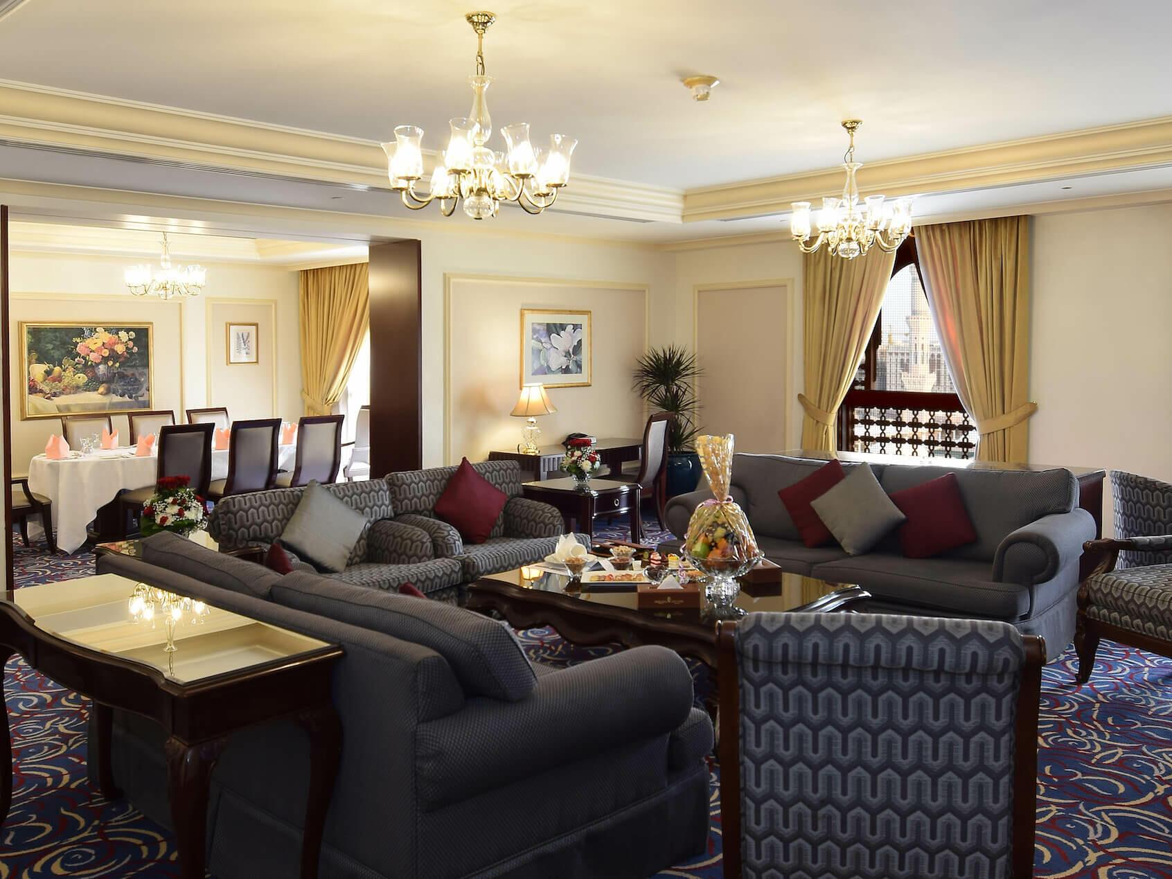 Royal 4 Bedrooms Suite Haram View