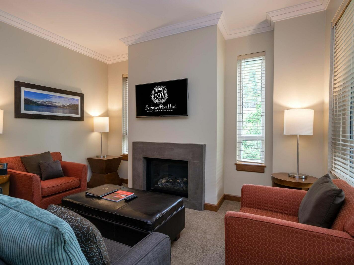 Three Bedroom Premium Suite The Sutton Place Hotel Revelstoke Mountain Resort