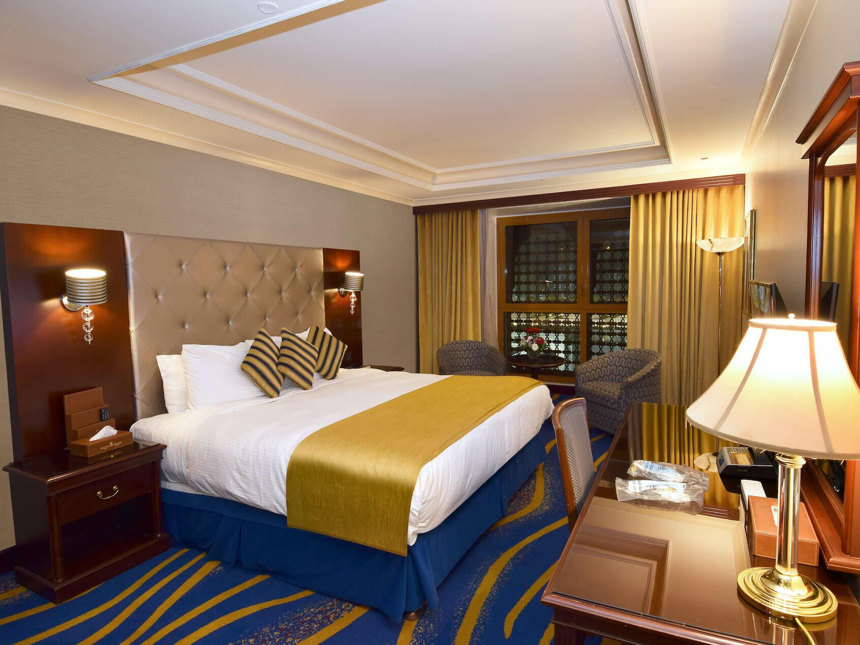 Deluxe King Bed Room Haram View