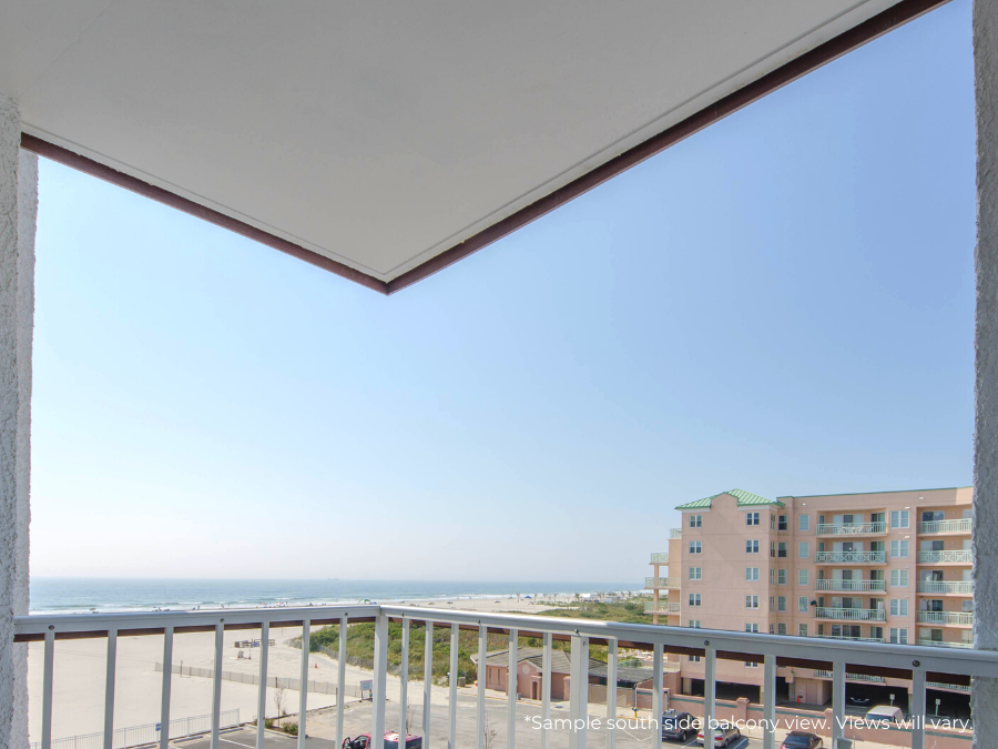 Penthouse Suite at Beach Resort in NJ Beach Hotel with Oceanfront Suites Balcony View