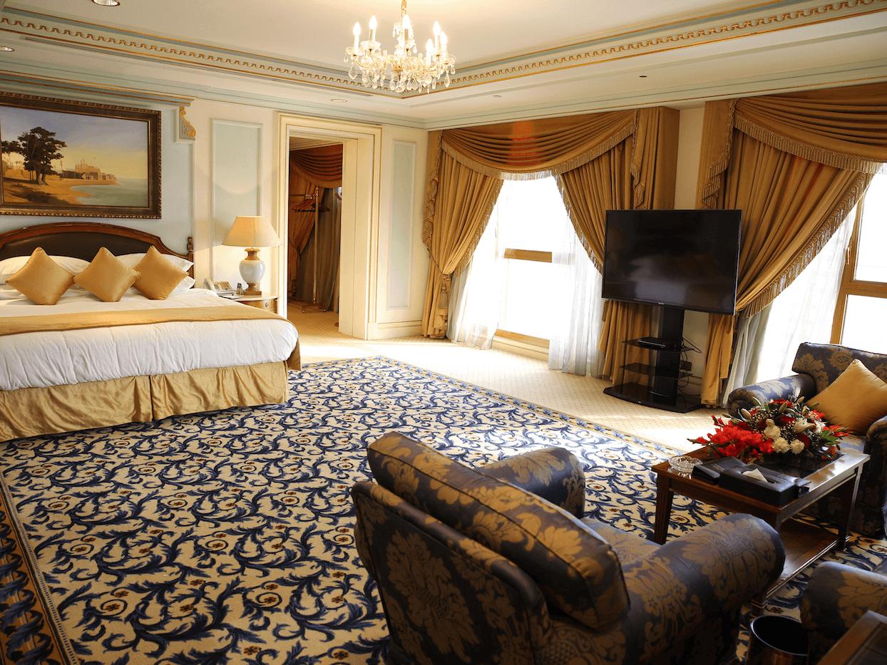 Royal Al Qasr Suite Haram View