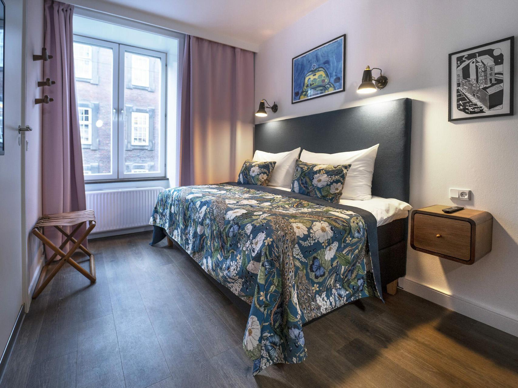 Solo - Single room at hotel h27 Copenhagen