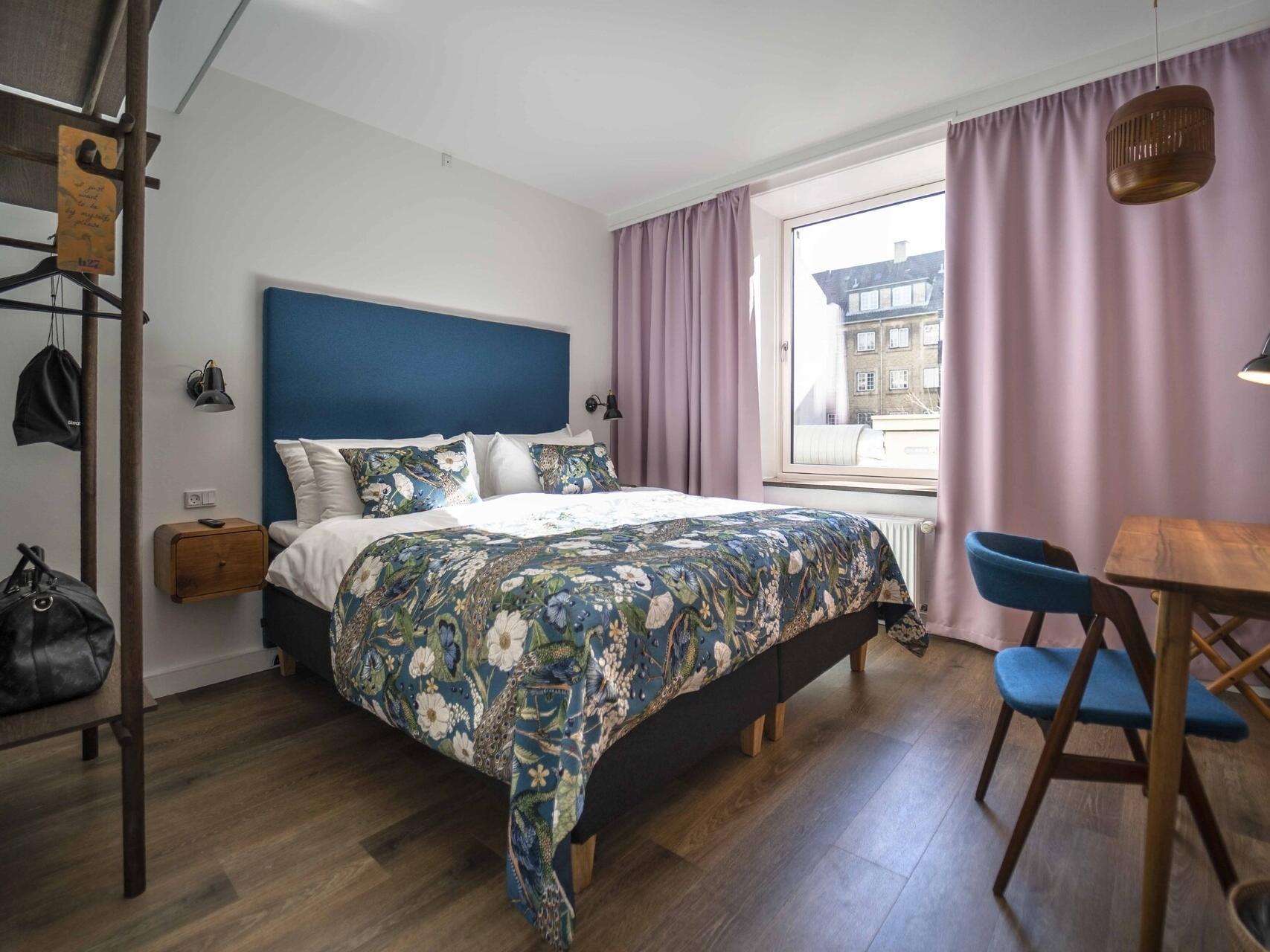 Signature premium double room at hotel h27 Copenhagen