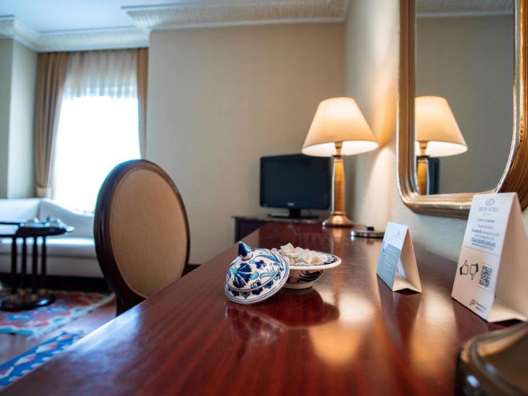Deluxe Room Eresin hotels sultanahmet