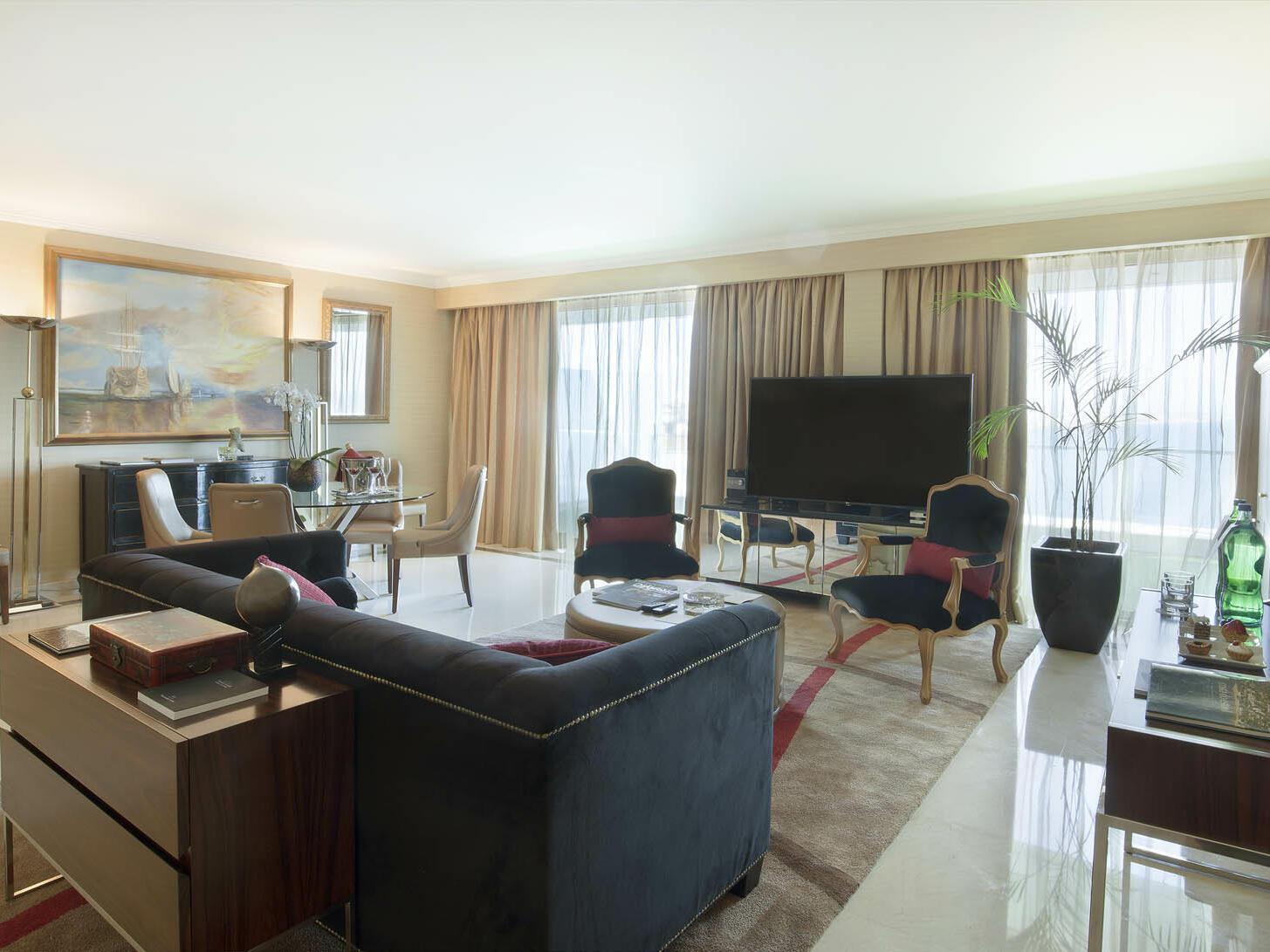 Suite Presidencial Miragem en el Hotel Cascais Miragem Health and Spa