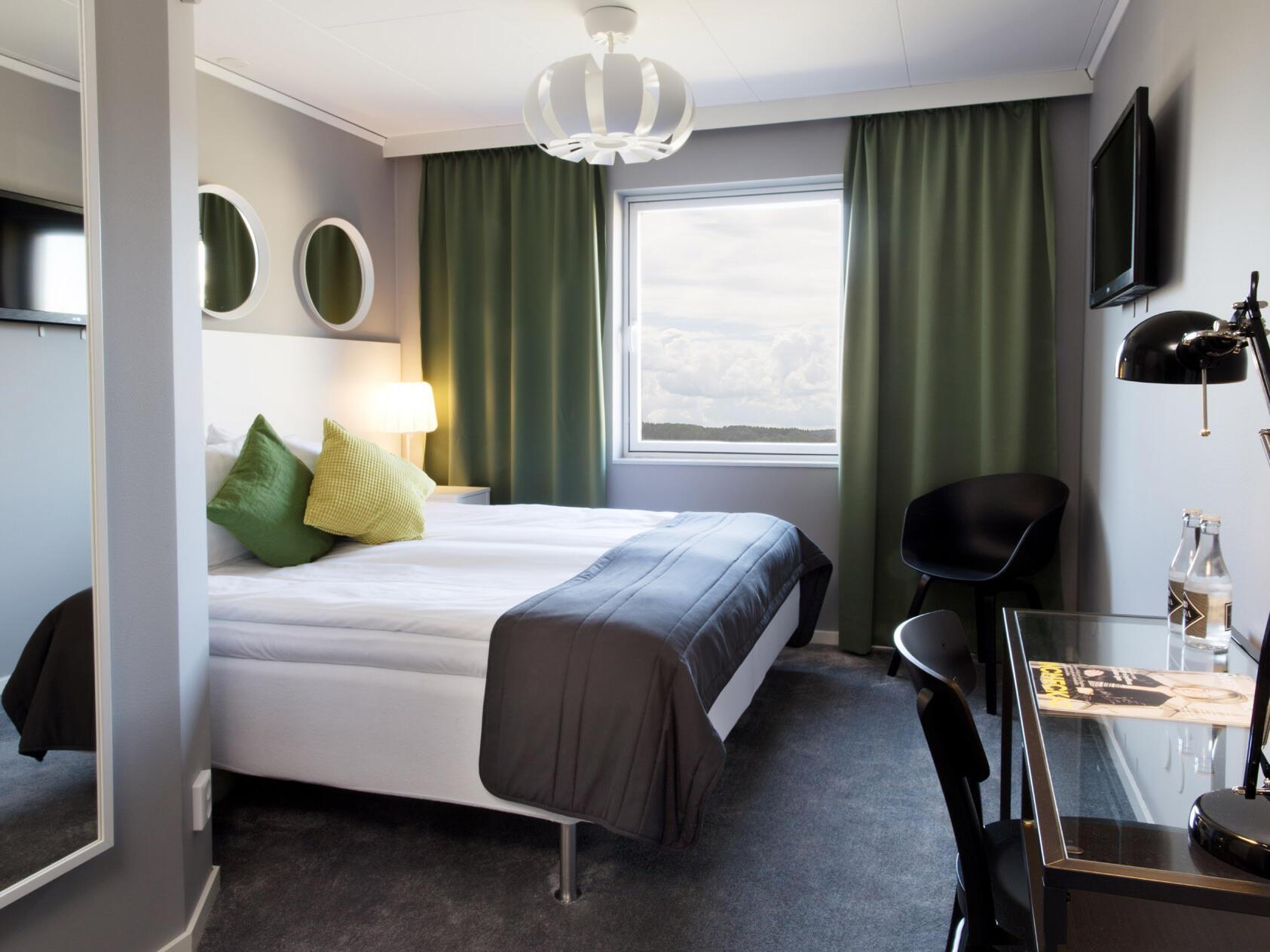 Superior King Room at Welcome Hotel in Järfälla, Sweden