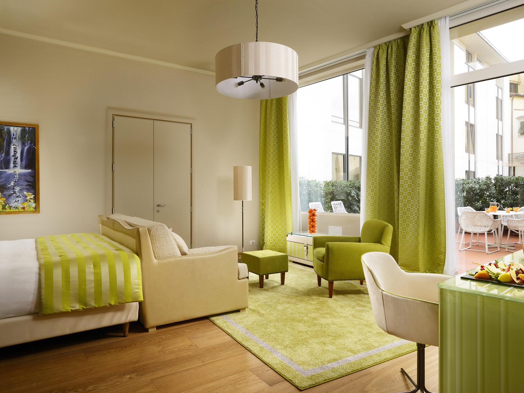 Fully equip bedroom at Grand Hotel Minerva