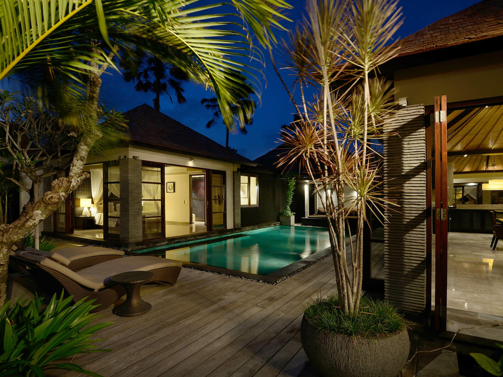 View of Three Bedroom Royal Pool Villa at Peppers Seminyak