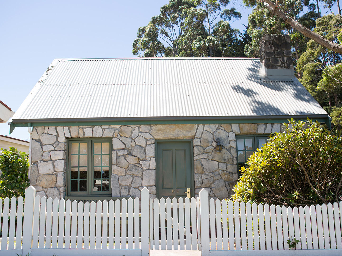 Exterior view of Village Waterfront Cottage at Strahan Village