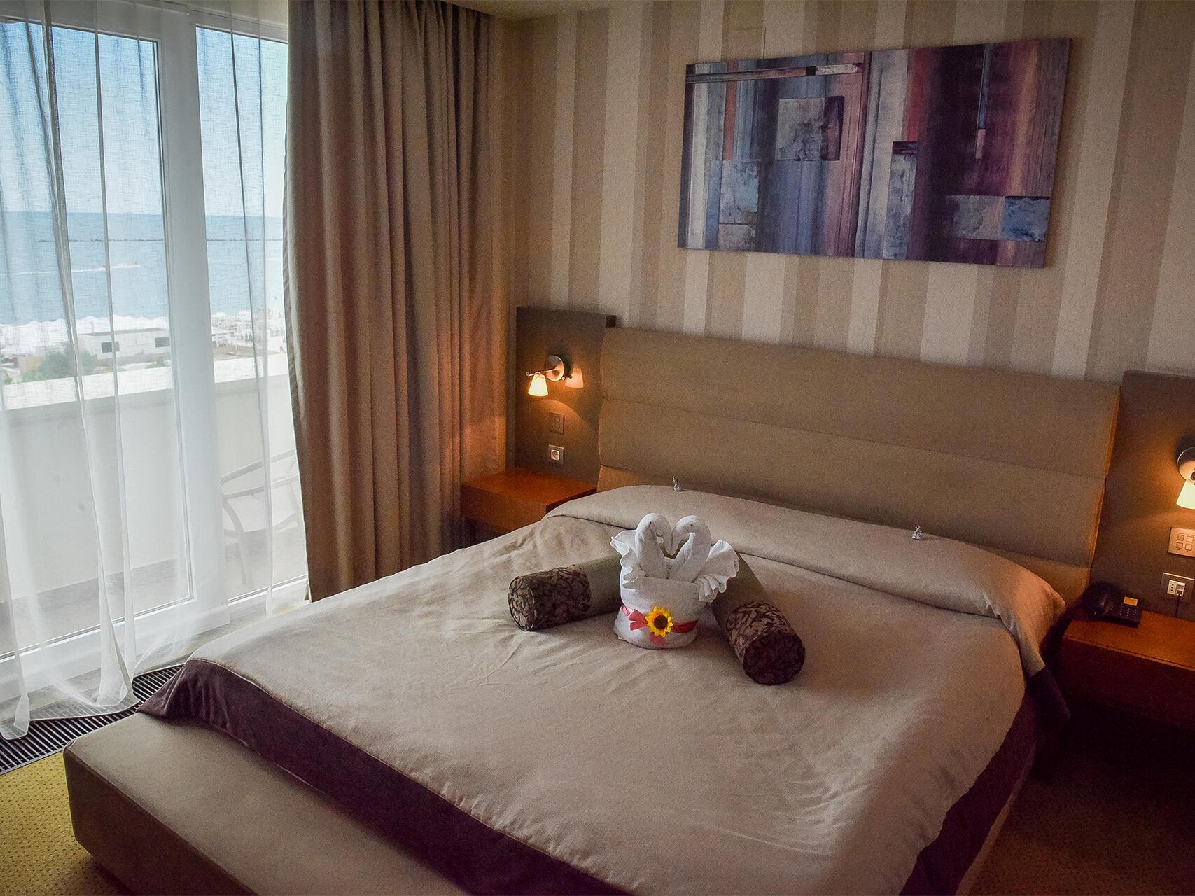 Sea View Double Room at IAKI Conference & Spa Hotel in Mamaia