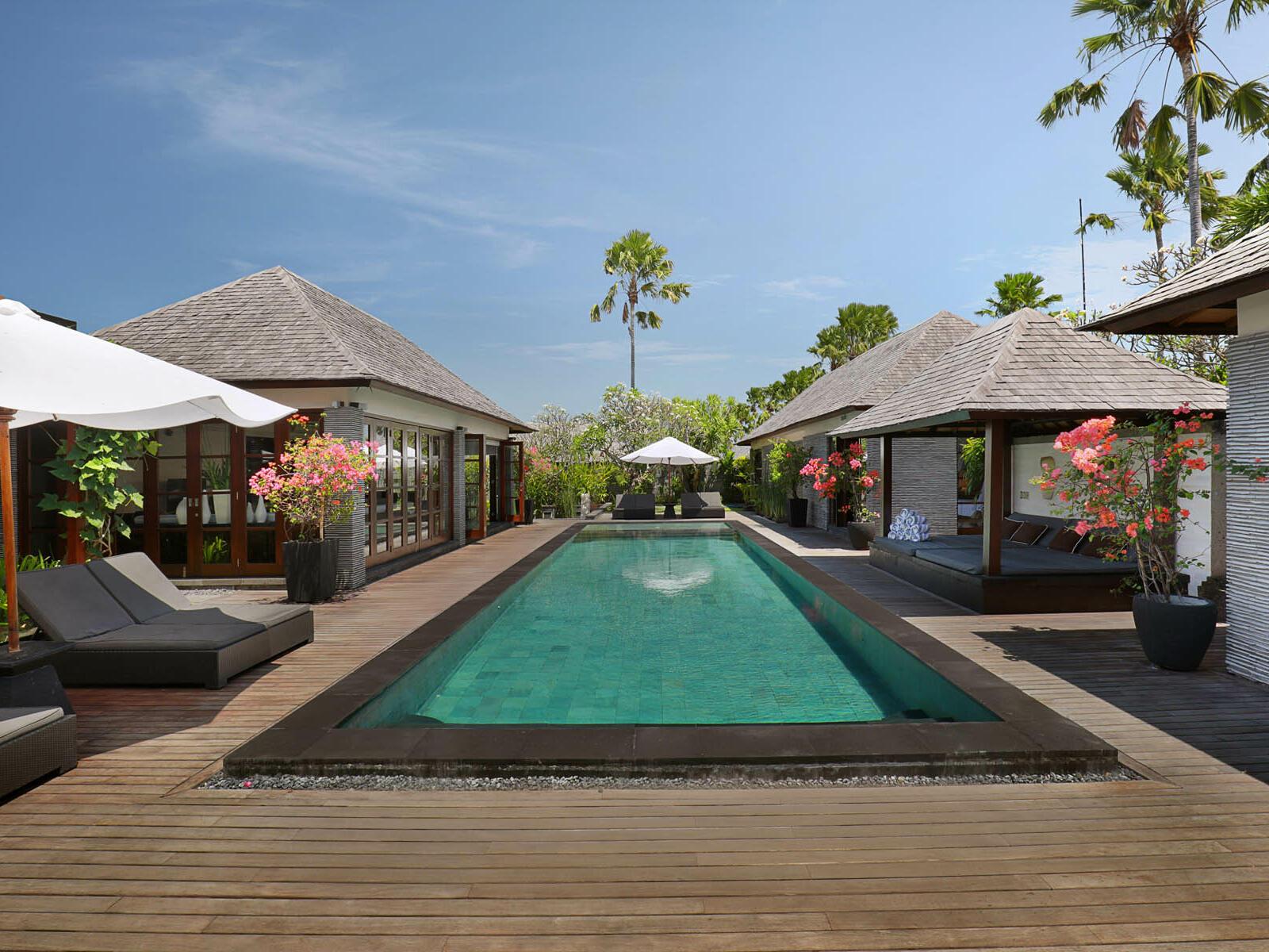 View of Five Bedroom Presidential Pool Villa  Peppers Seminyak