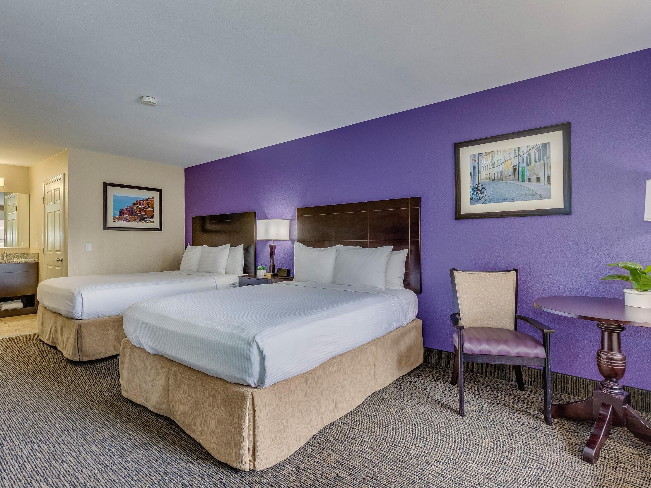 Premier Room with two beds at Grand Legacy at The Park Anaheim.