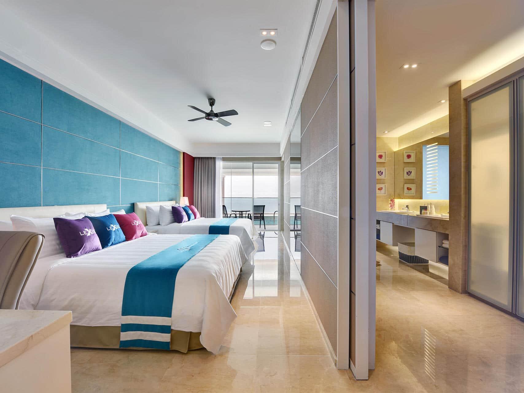Premium Pool Suite room view 1
