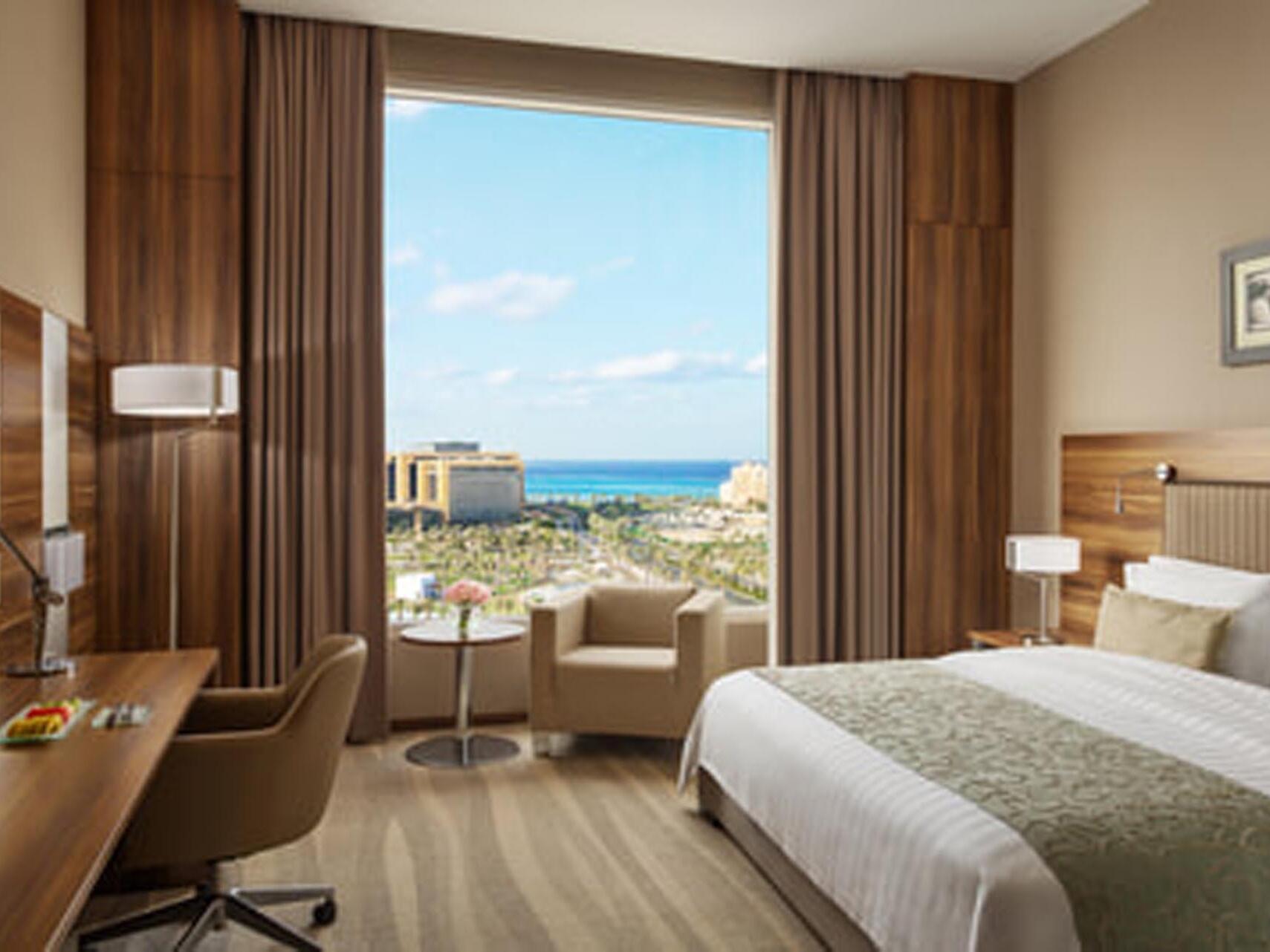 Superior Room Marina View with one bed at Bay La Sun Hotel & Marina