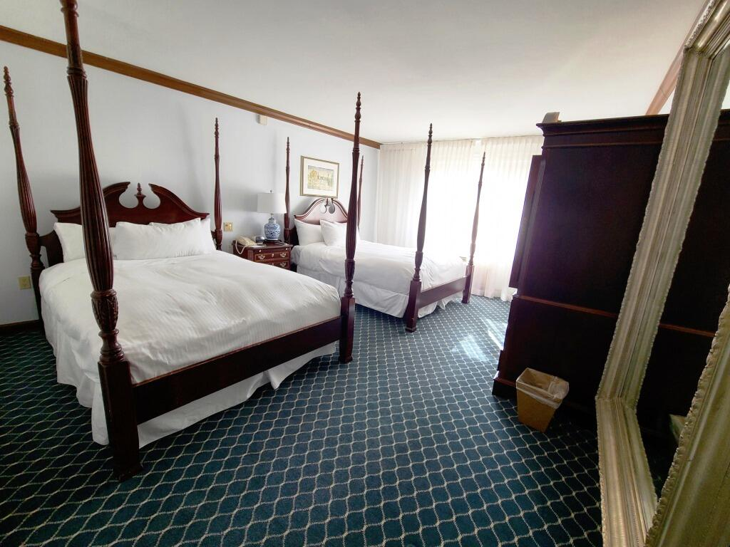 View of Traditional 2 Queen Beds Accessible at Avon Old Farms Hotel