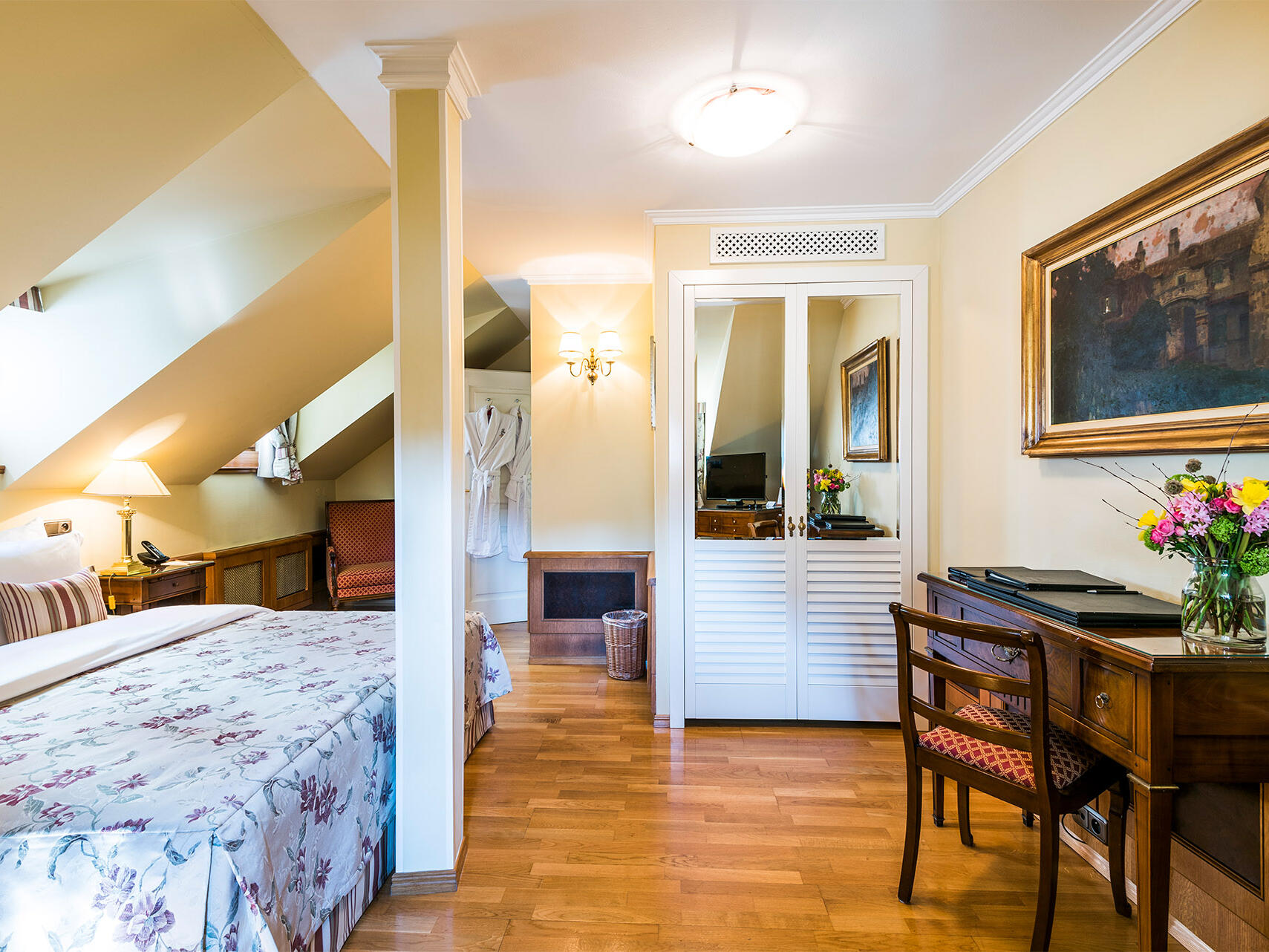 Superior Room at Golden Well Hotel in Prague