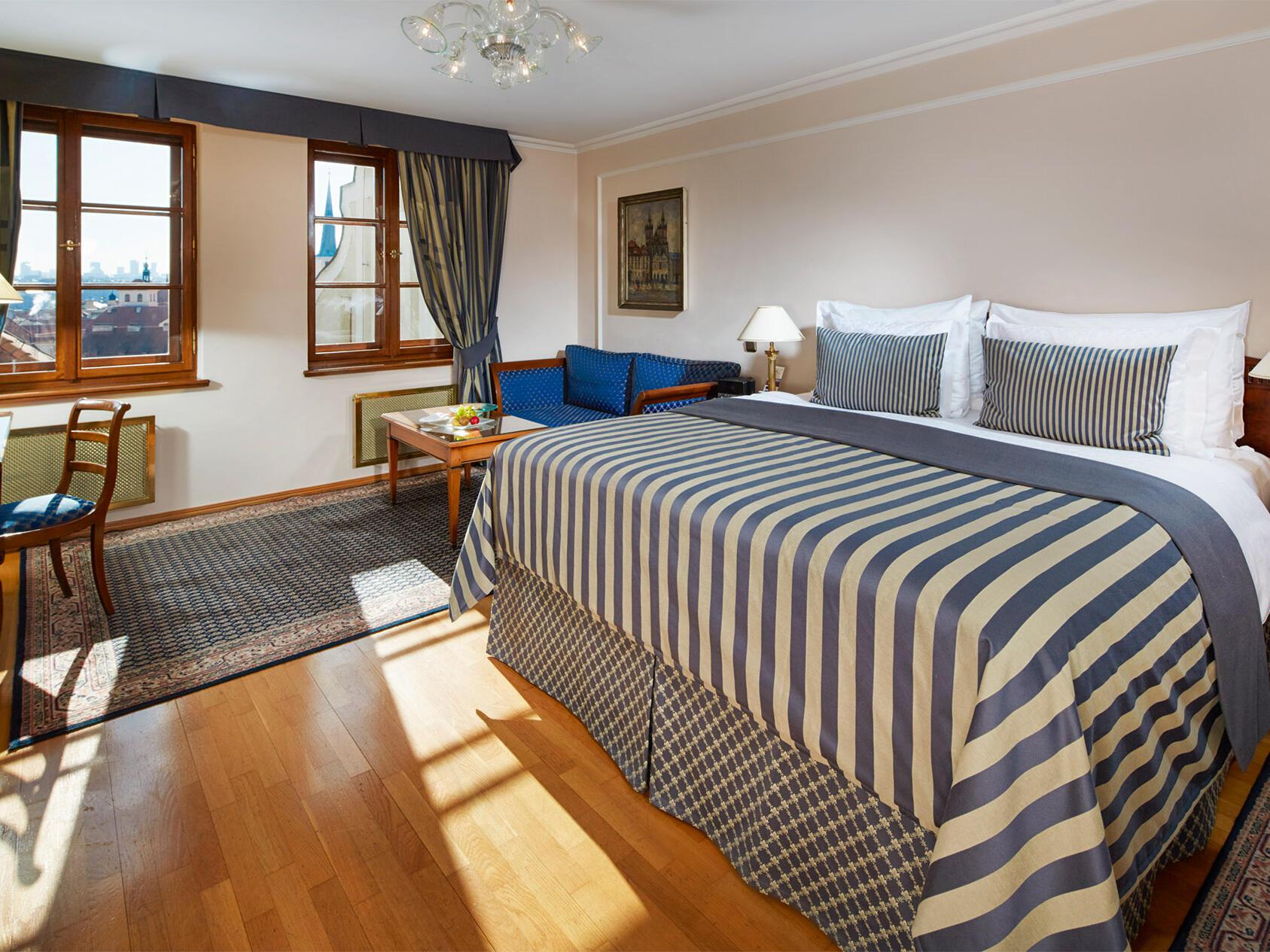 Grand Deluxe Room at Golden Well Hotel in Prague