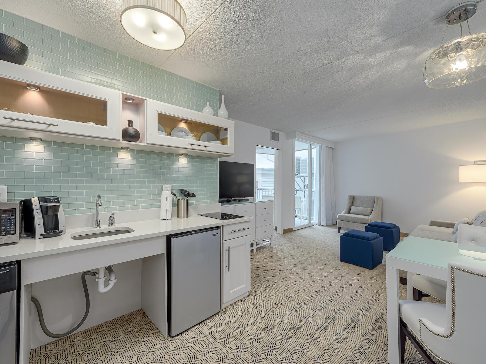 King ADA Handicap Accessible Suite at ICONA Diamond Beach Resort near the Wildwoods NJ