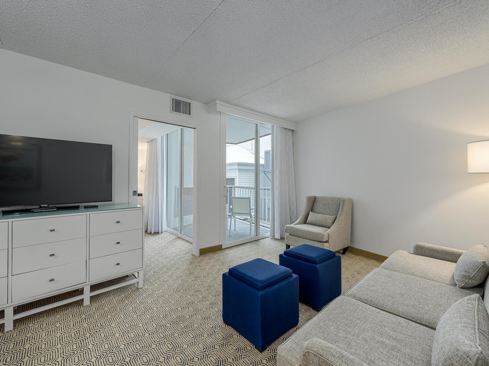 Classic King ADA Suite Handicap Accessible Hotel Room near Wildwood NJ