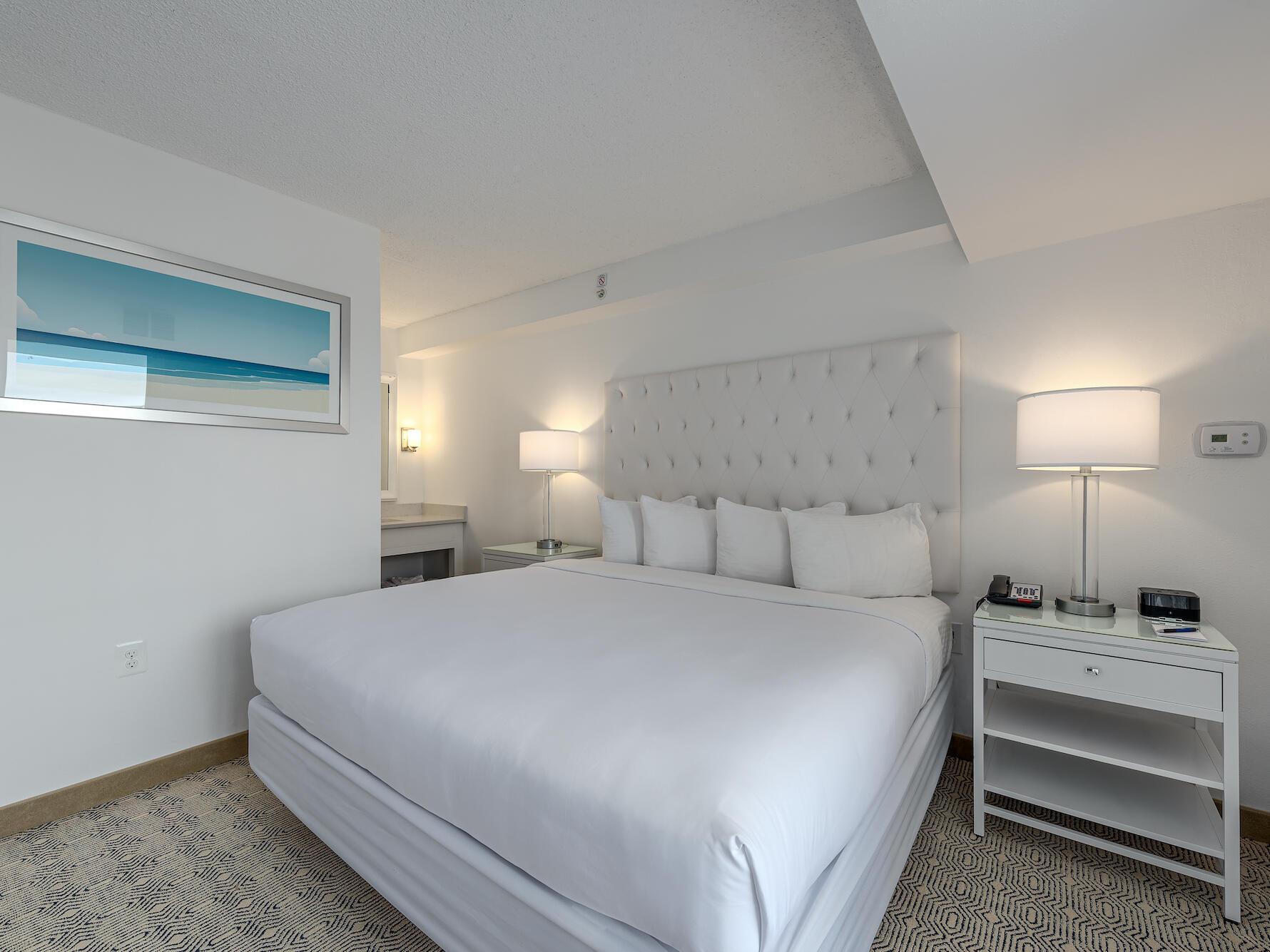 Classic King Suite ICONA Diamond Beach Resort Hotel near Wildwood NJ