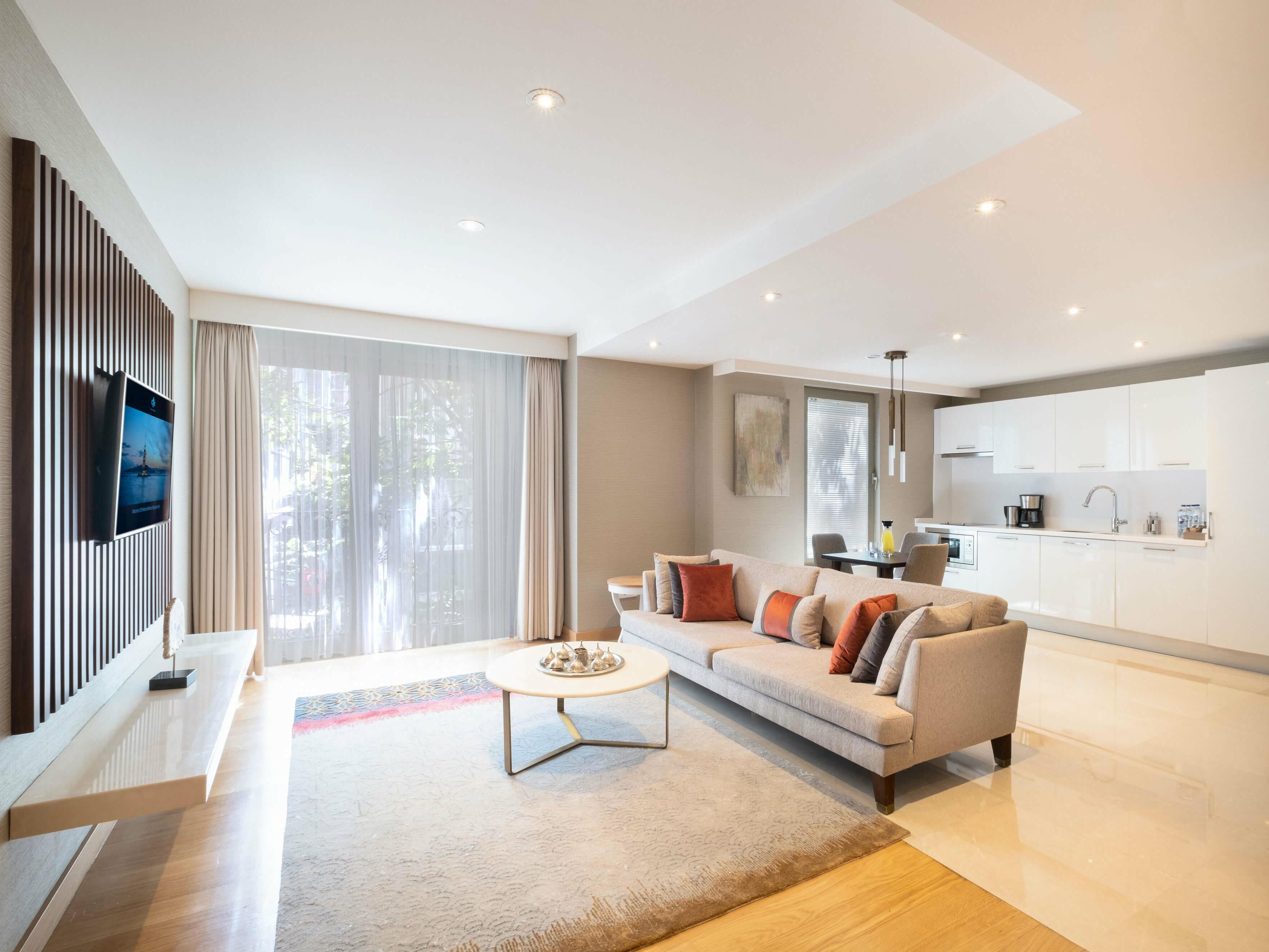 1 Yatak Odalı Süitler CVK Park Prestige Suites İstanbul