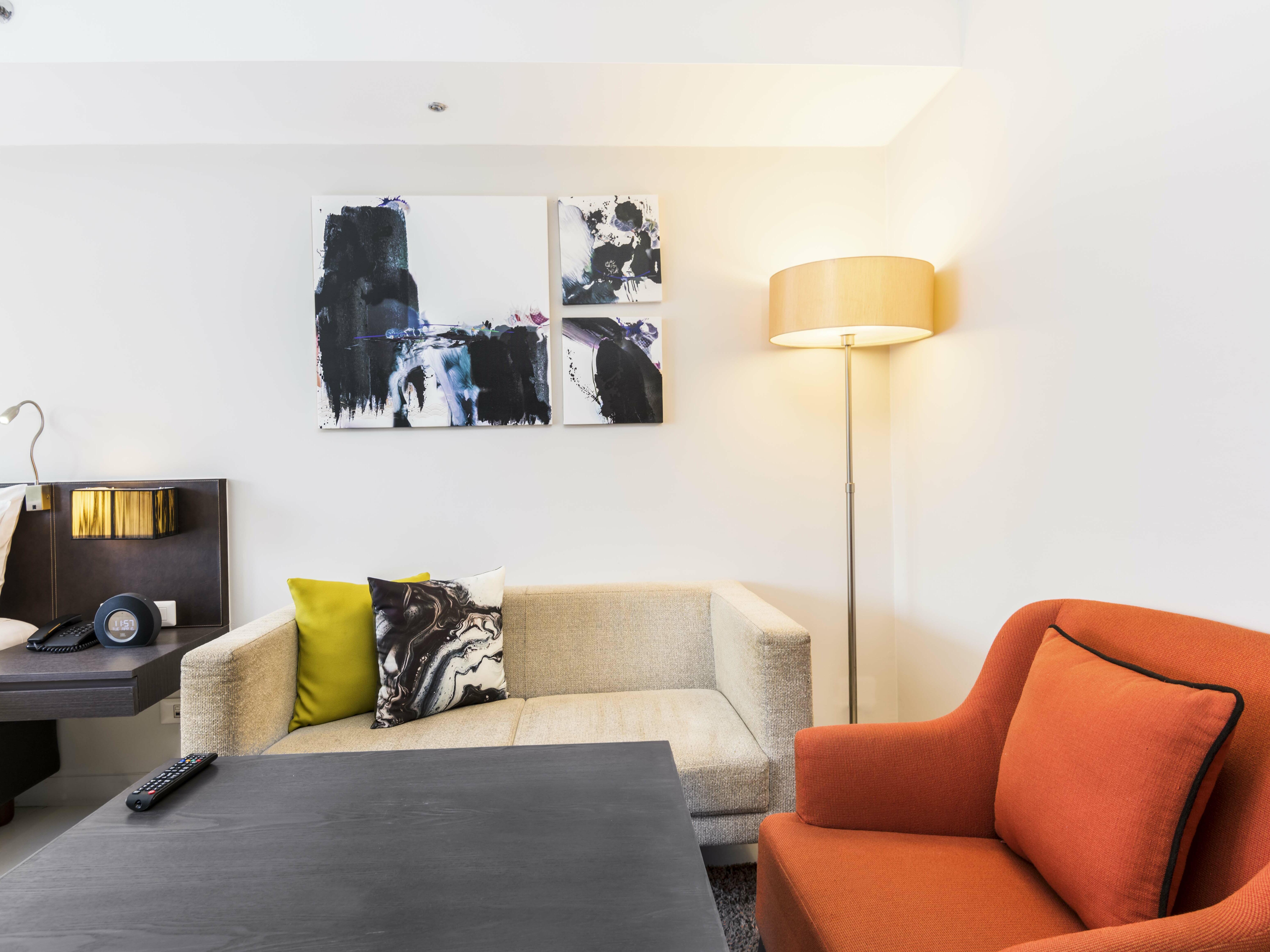 View of Studio Superior bedroom at Maitria Hotel Sukhumvit 18