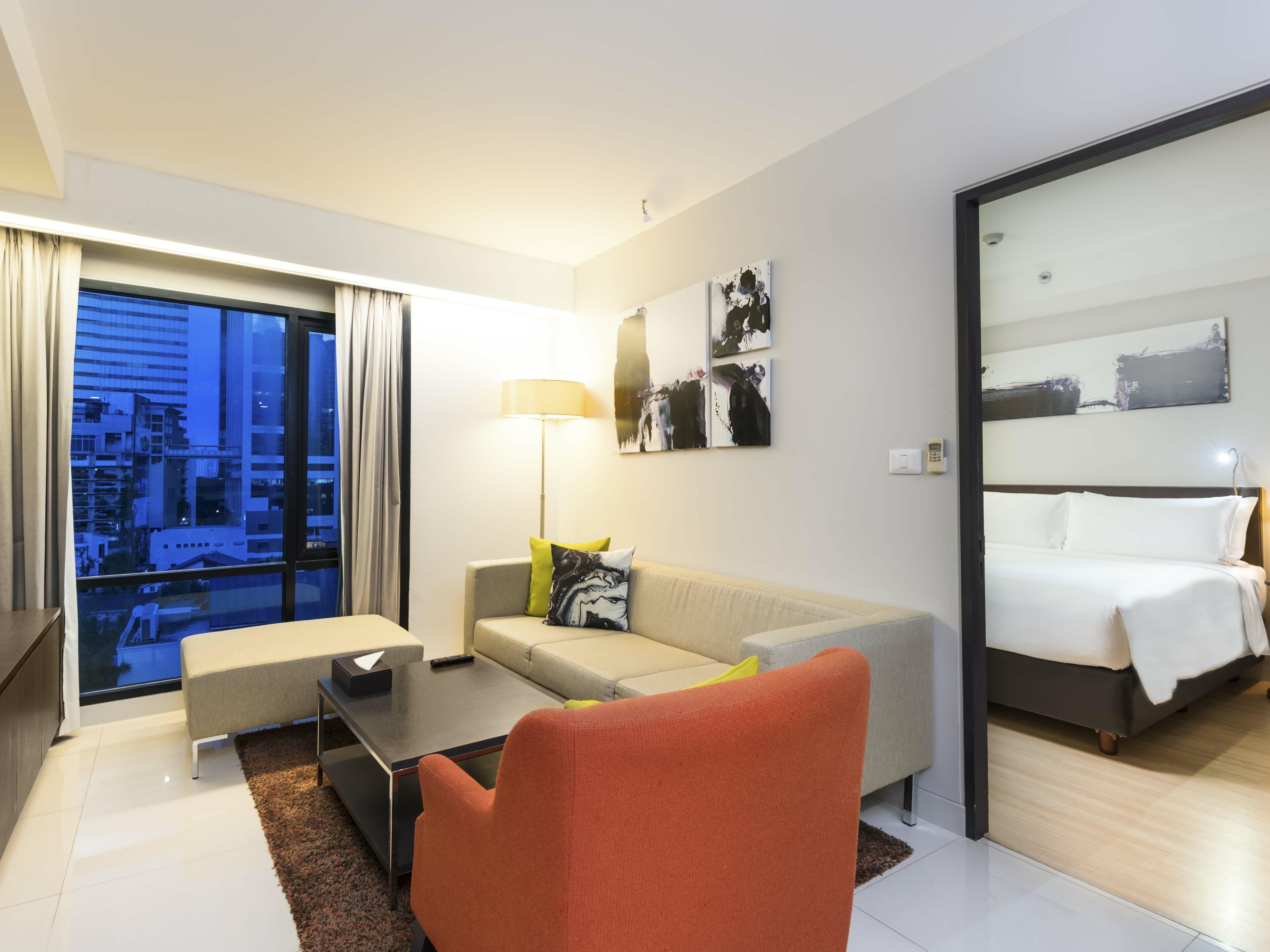 Interior View of Two bedroom suite at Maitria Hotel Sukhumvit 18