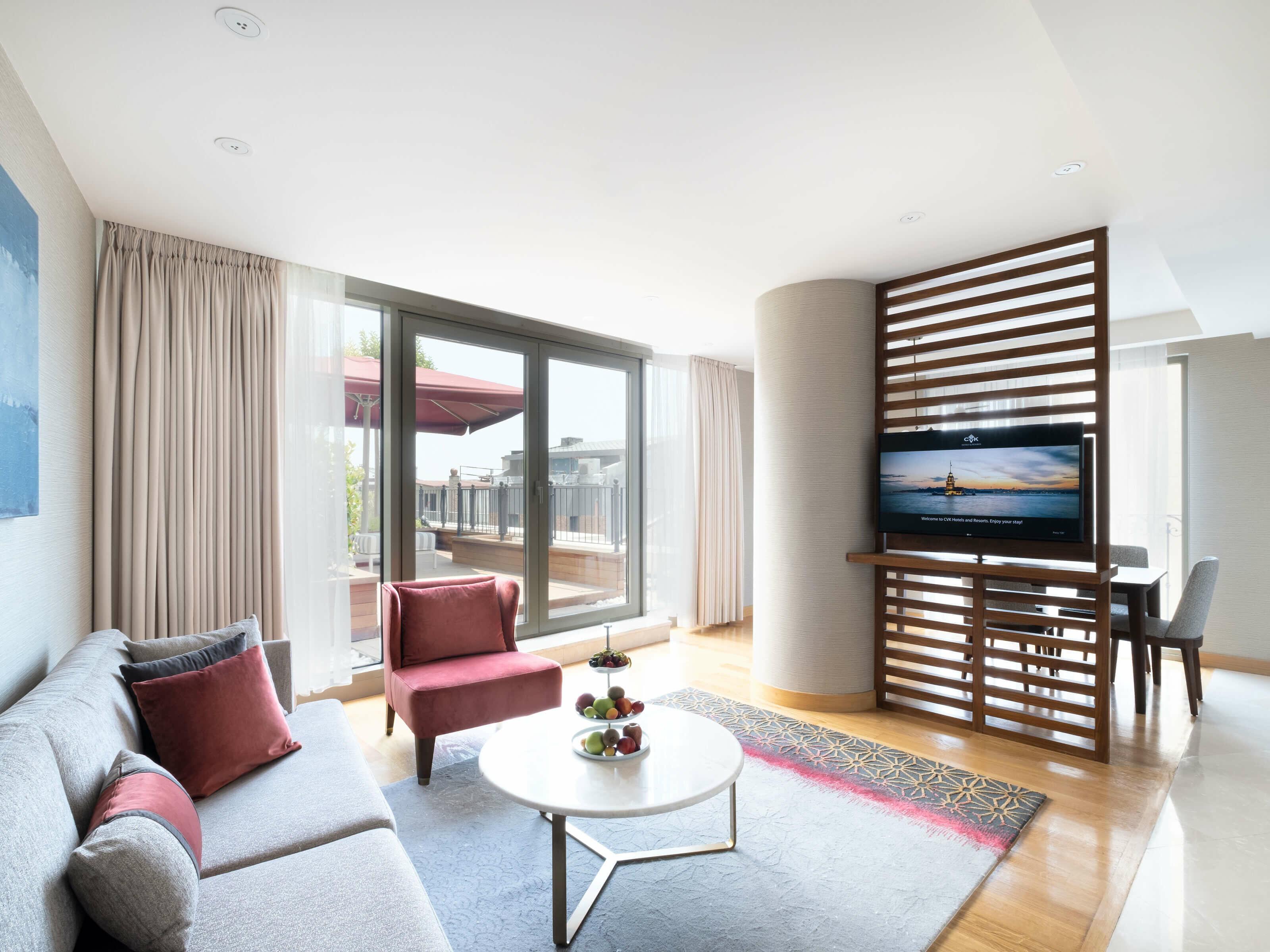 2 Yatak Odalı Süitler CVK Park Prestige Suites İstanbul
