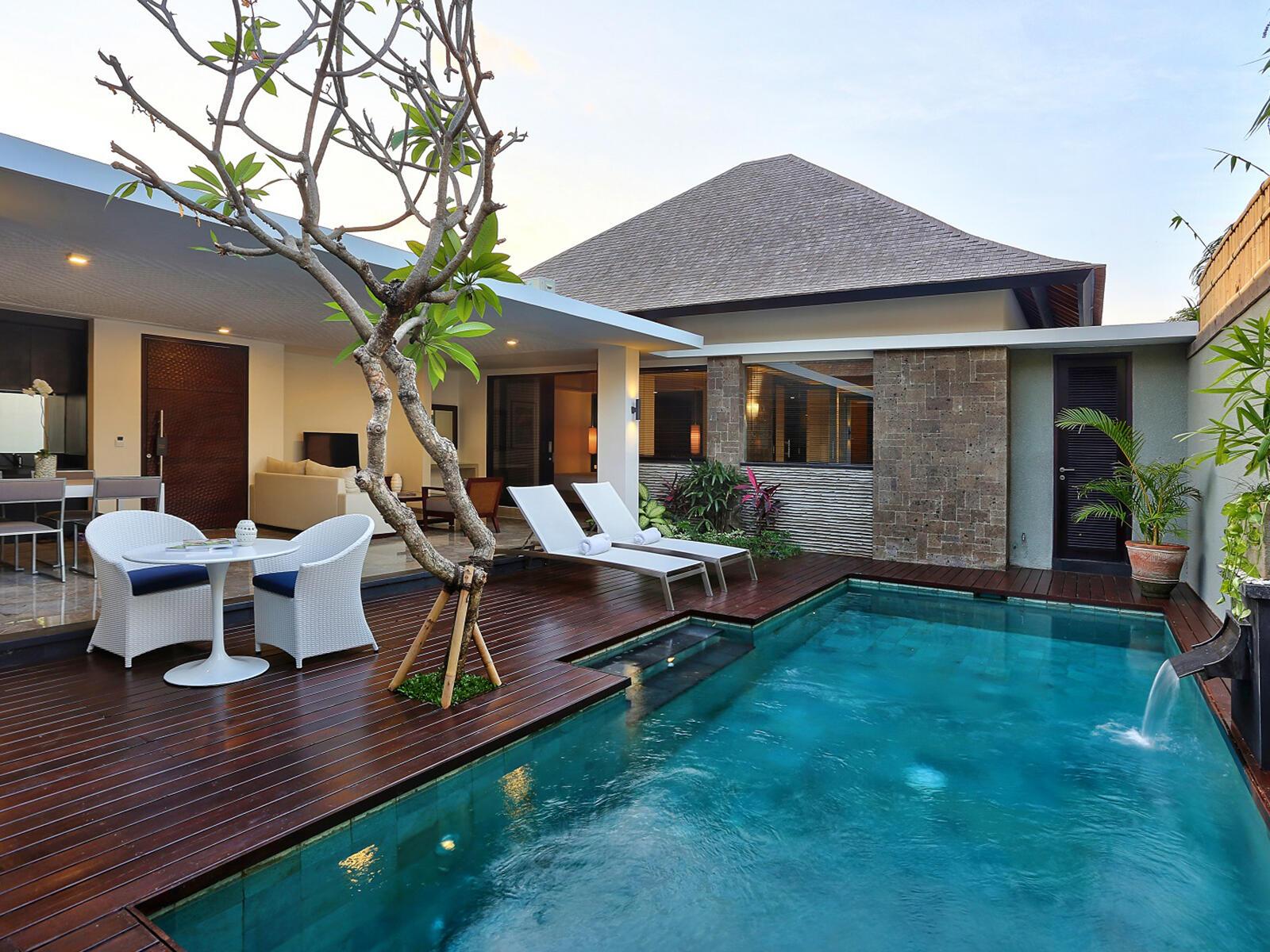 View of One Bedroom Pool Villa at  Peppers Seminyak