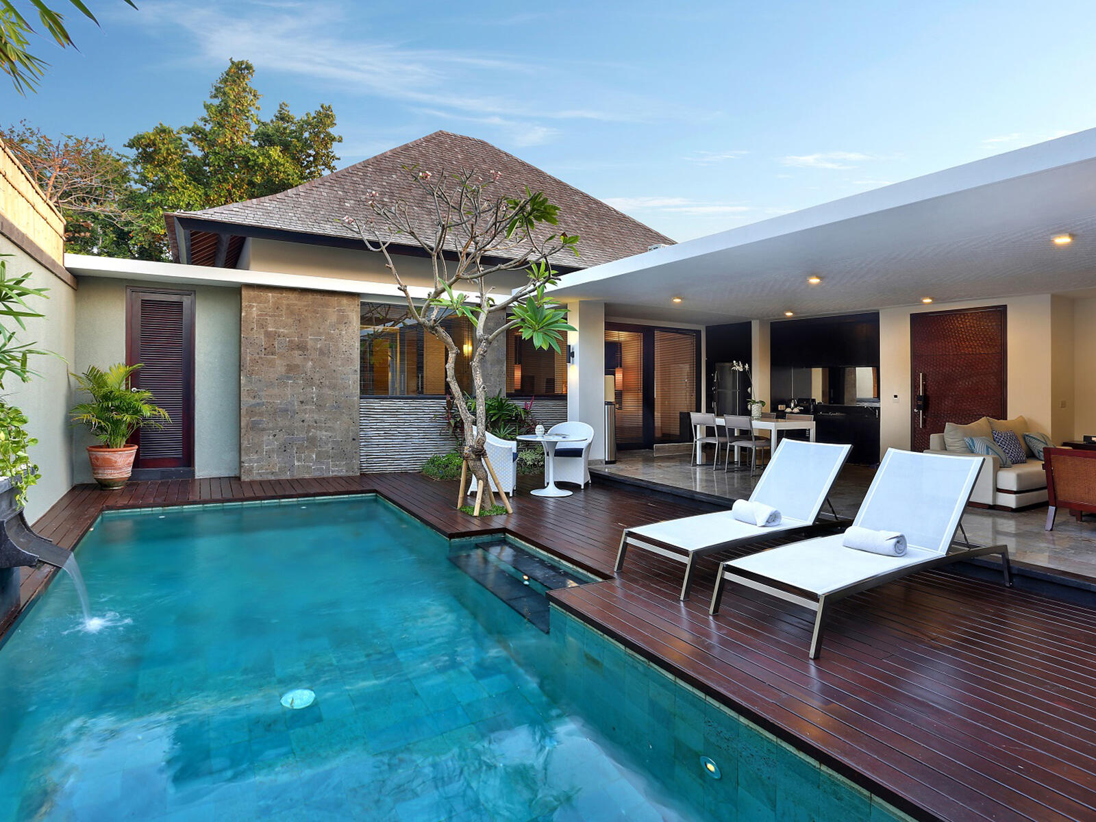 View of two Bedroom Pool Villa at Peppers Seminyak